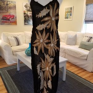 Vintage Flapper Gorgeous Beaded Dress